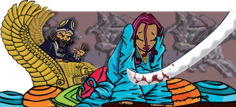 Ilustraciones para libro de texto, Nuevo Aldaba - Editorial Barcanova 2