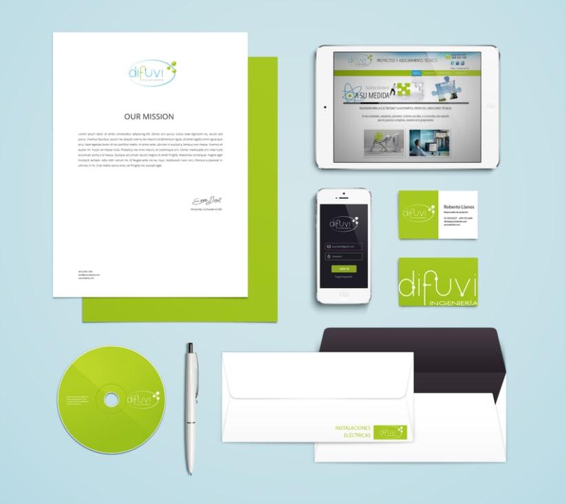 Branding y diseño + desarrollo web empresa de ingeniería eléctrica  -1