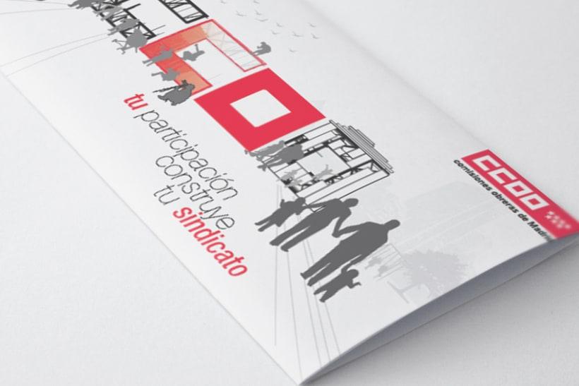 Campaña afiliativa para CCOO de Madrid 1