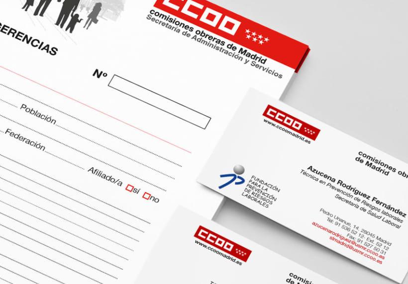 Campaña afiliativa para CCOO de Madrid 3