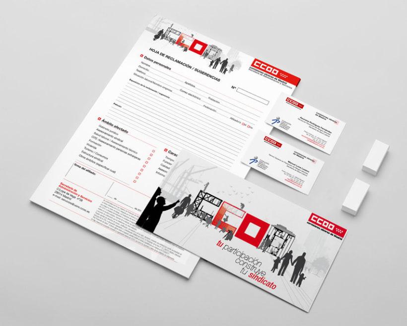 Campaña afiliativa para CCOO de Madrid 4