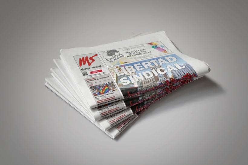 Periódico Madrid Sindical -1