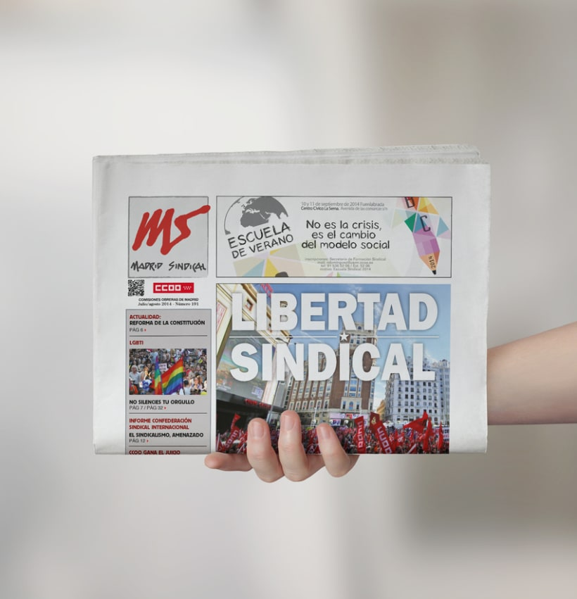 Periódico Madrid Sindical 1