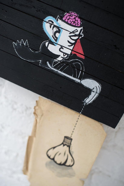 """""""Entre Ideas y Maderas"""" Diario ilustrado sobre madera.  12"""