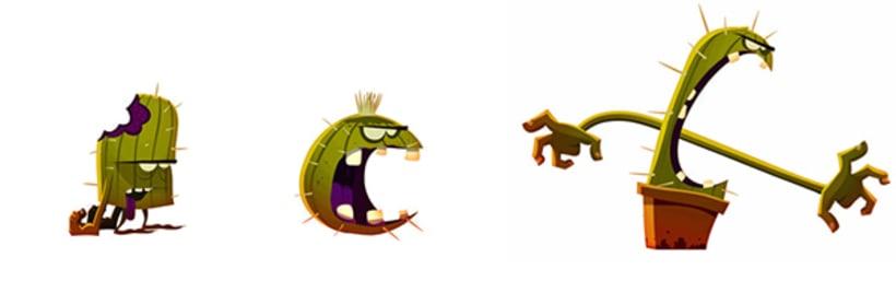 Cactus Zombie 6