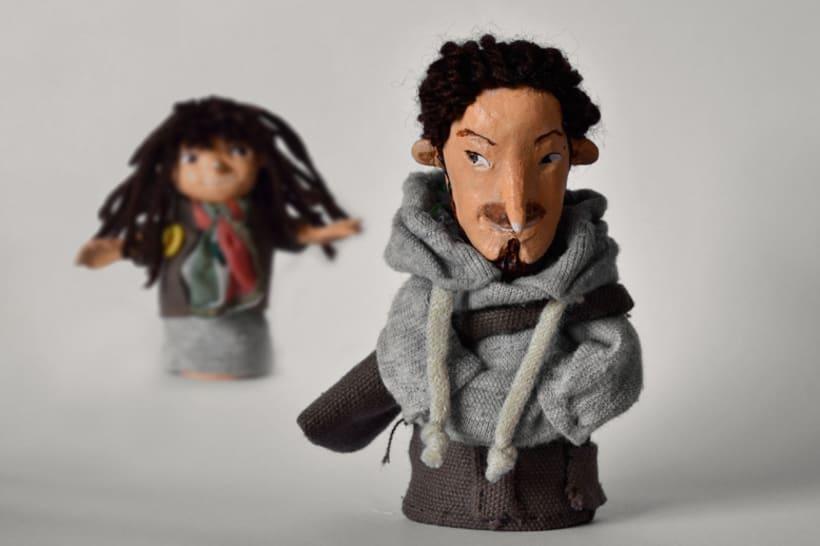 Marionetas de Dedos Studio 1