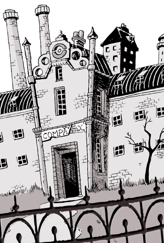 """Ilustraciones para """"L'Assessinat del professor de música"""" de Jordi Sierra y Fabra 2"""