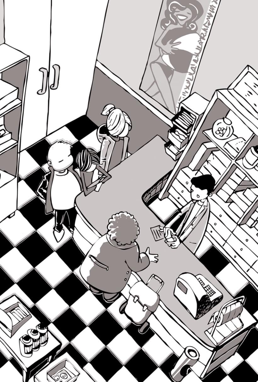 """Ilustraciones para """"L'Assessinat del professor de música"""" de Jordi Sierra y Fabra 3"""