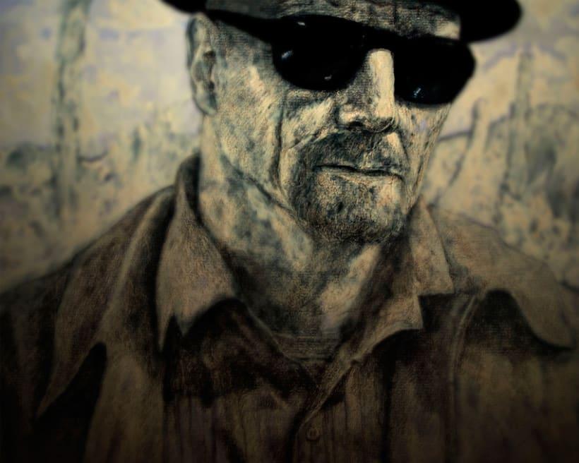 Mr. Heisenberg [ experimentando con diferentes técnicas ] 0