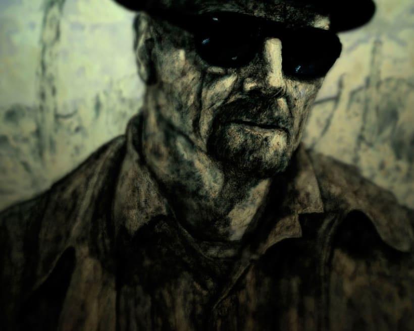 Mr. Heisenberg [ experimentando con diferentes técnicas ] 1