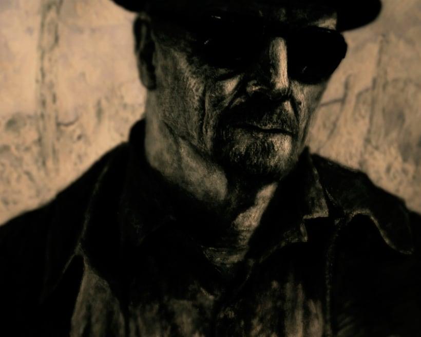 Mr. Heisenberg [ experimentando con diferentes técnicas ] 2