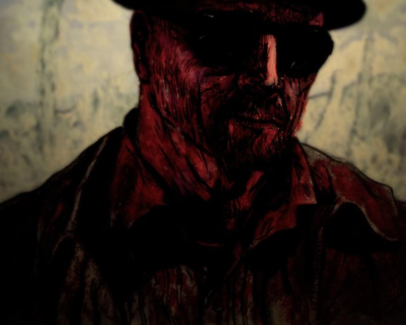 Mr. Heisenberg [ experimentando con diferentes técnicas ] 3