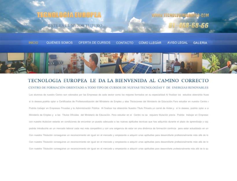 Proyecto Tecnología Europea 0
