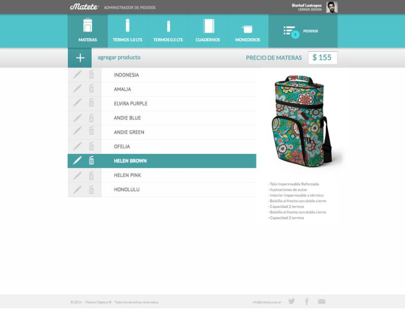 Administrador de Pedidos - UI / UX Designer -1