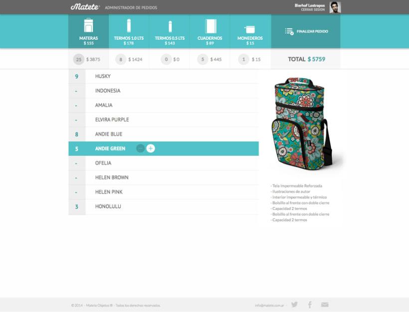 Administrador de Pedidos - UI / UX Designer 4