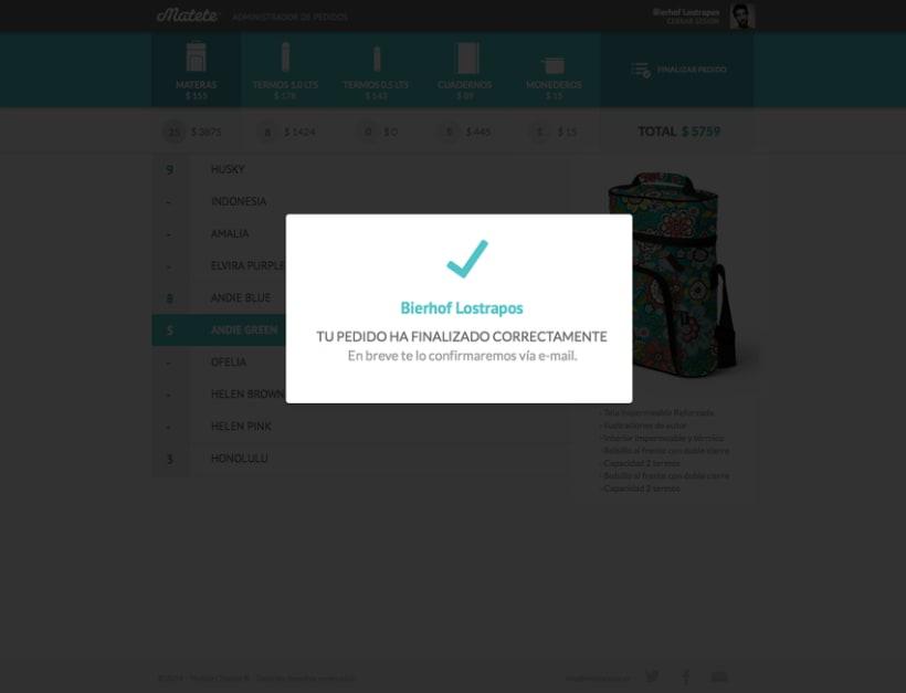 Administrador de Pedidos - UI / UX Designer 6