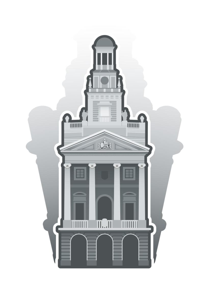 Ilustraciones edificios y monumentos -1
