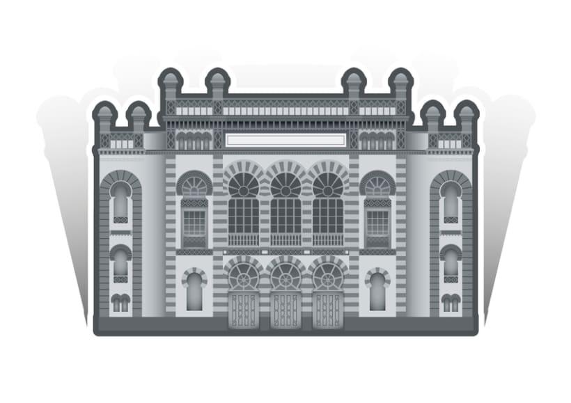 Ilustraciones edificios y monumentos 0