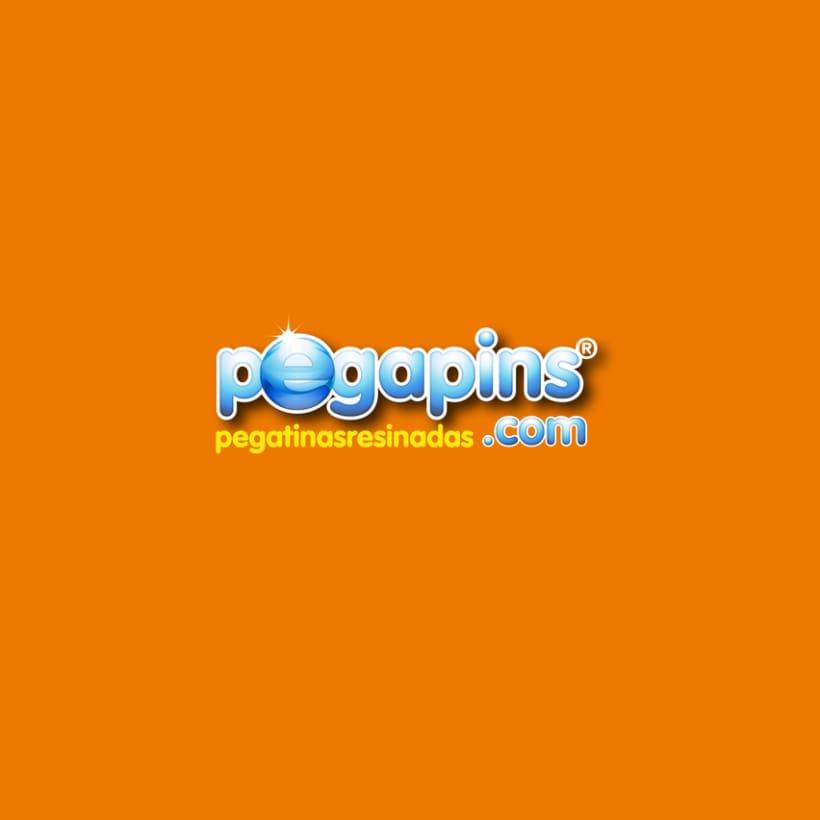Diseño de la imagen grafica. Pegapins. Pegatinas resinadas 1