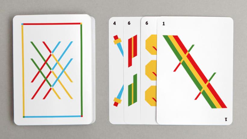 Baraja de cartas minimalista 1