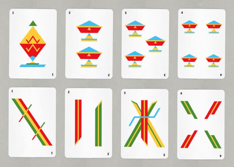Baraja de cartas minimalista 3