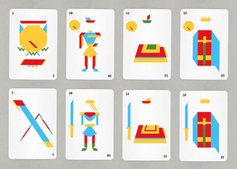 Baraja de cartas minimalista 4