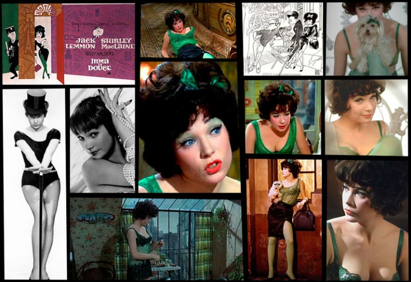 Irma La Douce, Shirley MacLaine una chica Pin Up 0