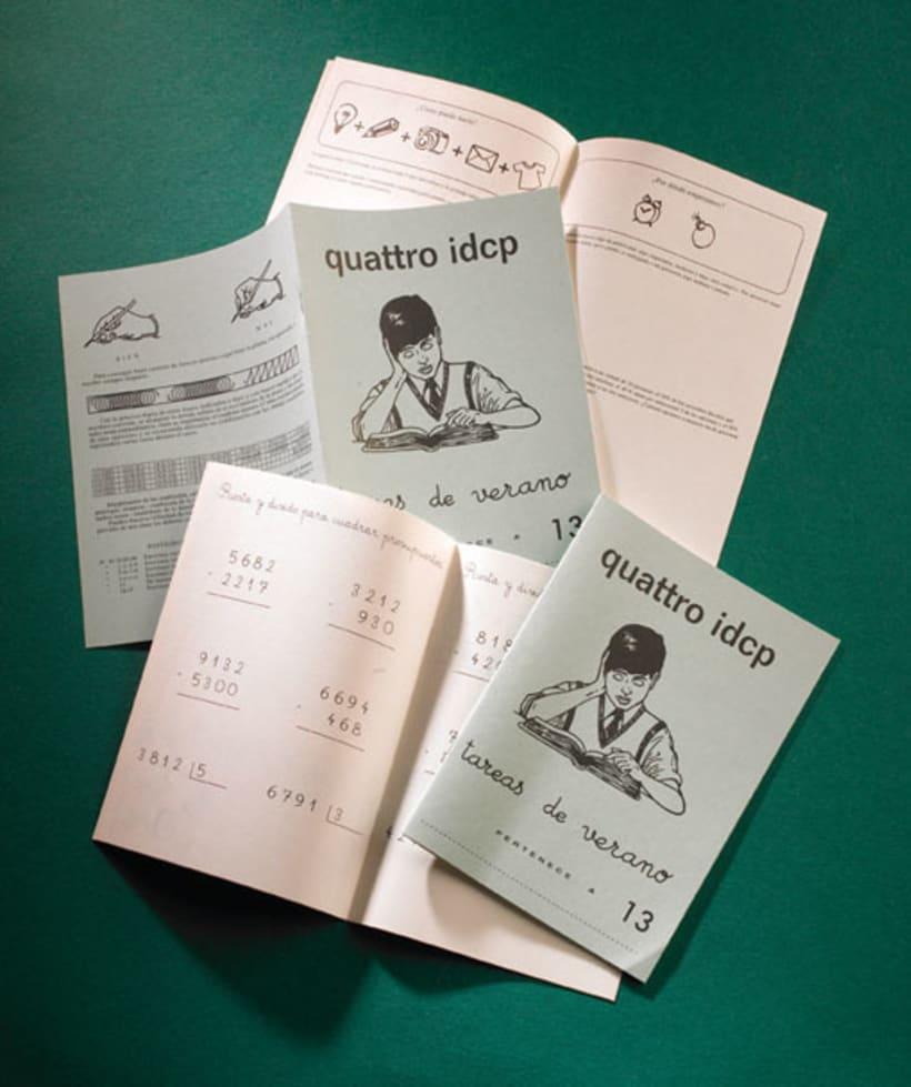 quattro idcp - Cuadernillo Rubio 0