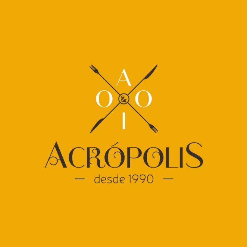 Logotipo Acrópolis 2