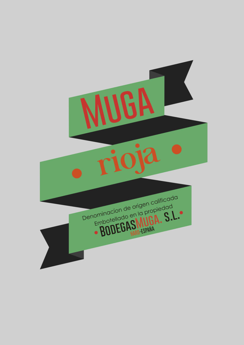 Packaging: Bodegas Muga 0