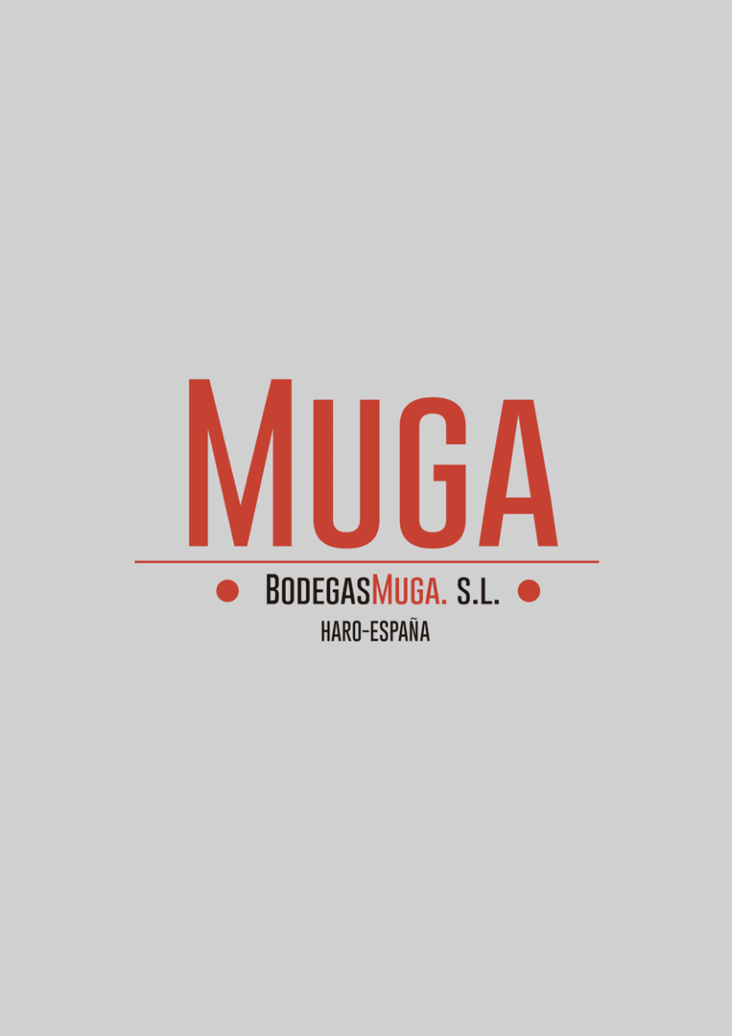 Packaging: Bodegas Muga 1