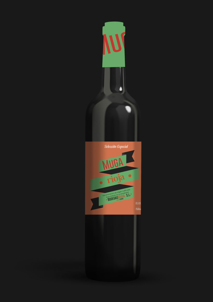 Packaging: Bodegas Muga 2