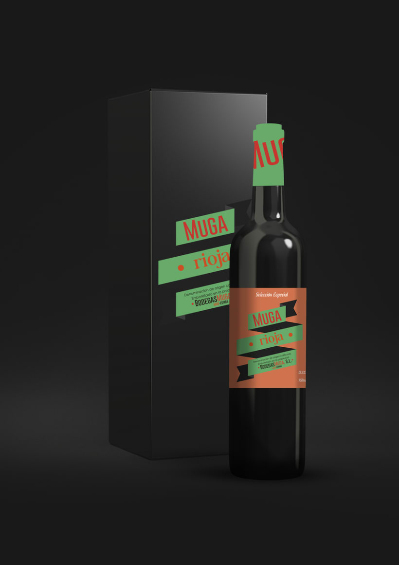 Packaging: Bodegas Muga 4