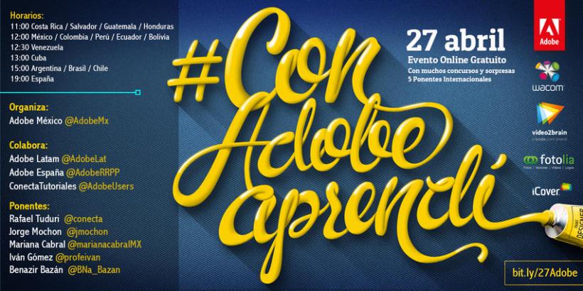 "Campaña ""Con Adobe Aprendí"" 1"