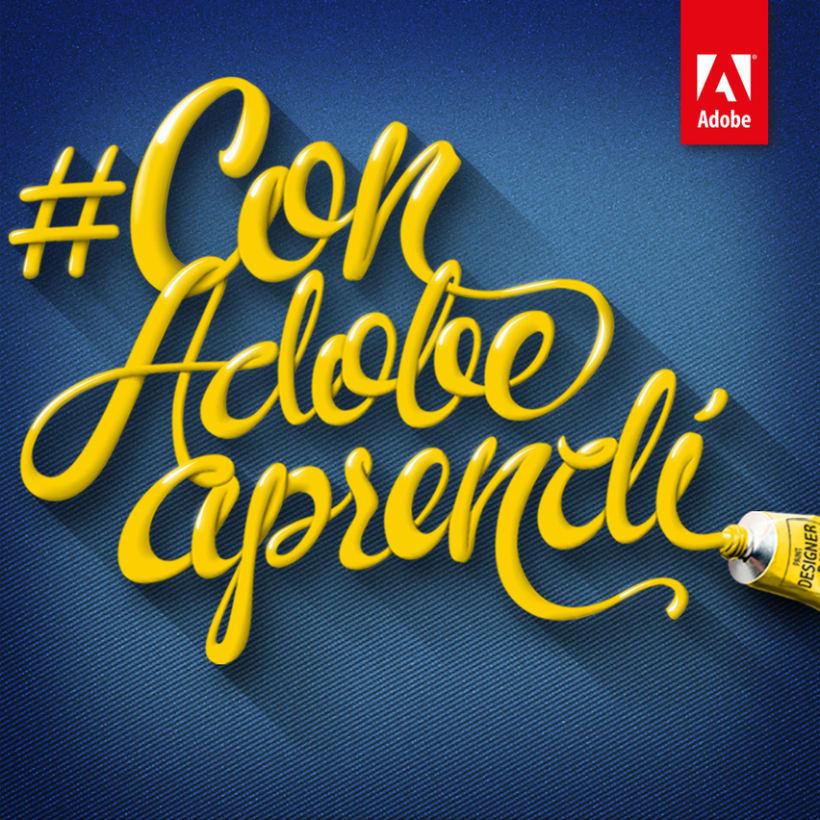 "Campaña ""Con Adobe Aprendí"" 0"