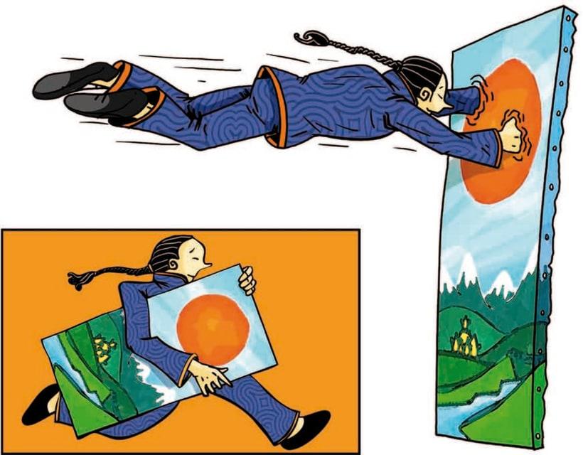 Ilustraciones para libro de texto Nou Estimul 1