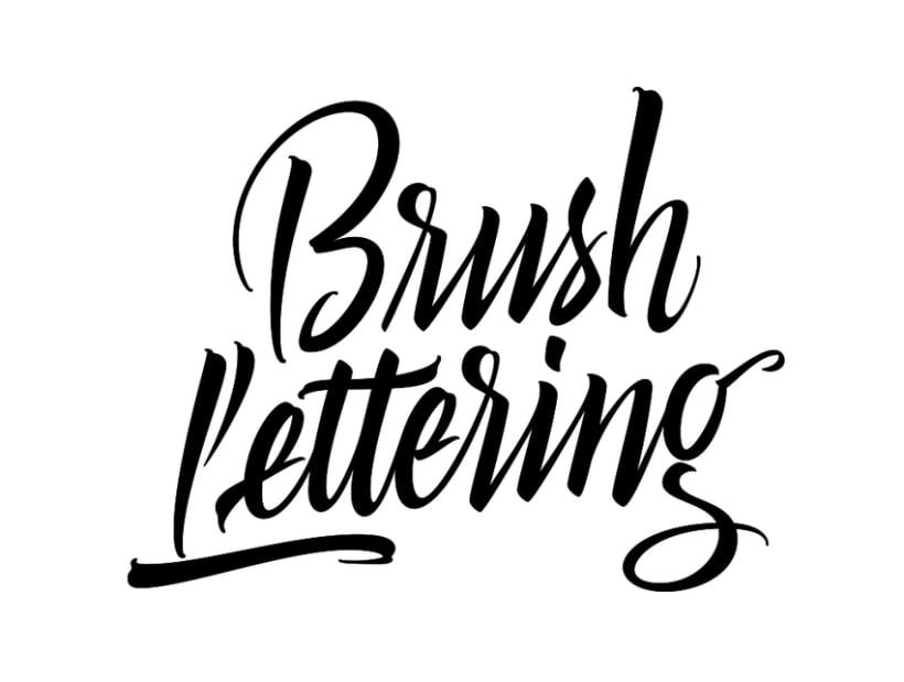 Brush Lettering 4