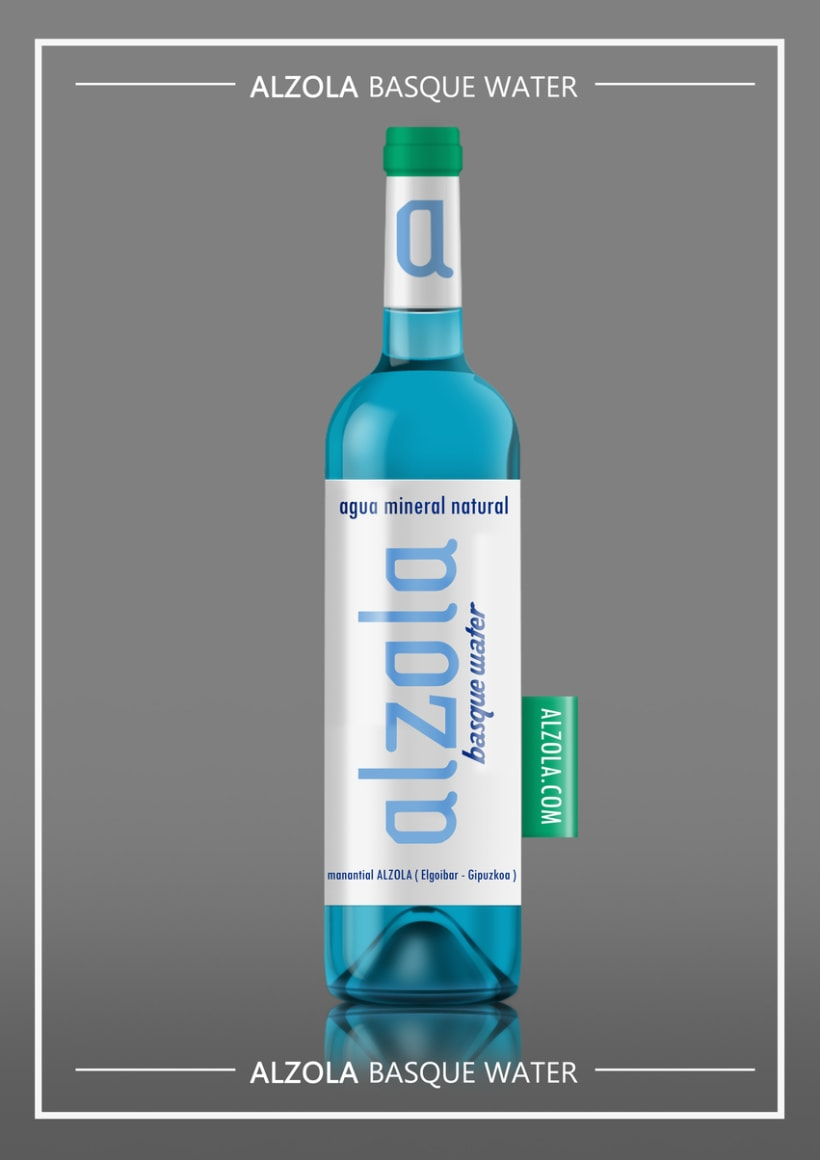 Alzola Basque Water logotipo+packaging 1