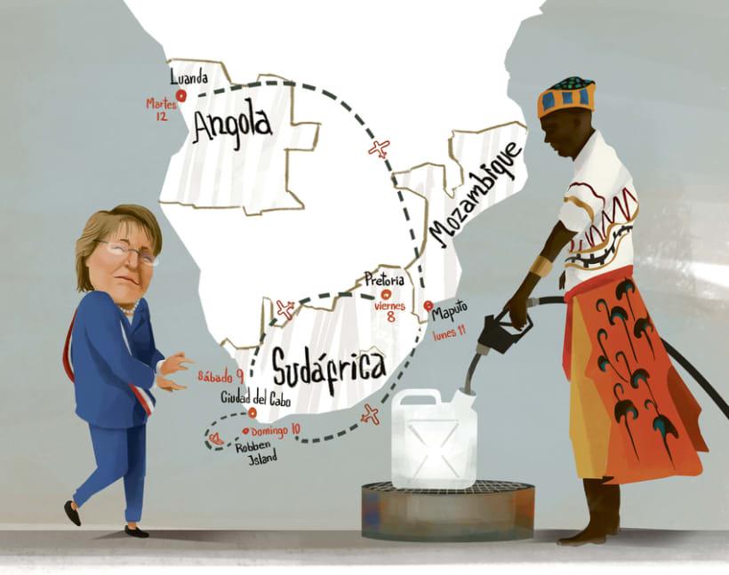 Bachelet en África 0