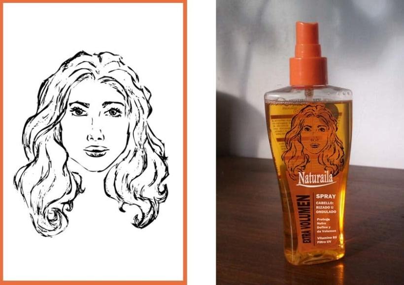 Ilustraciónes aplicadas en producto final. (Etiquetas, packagin, textil) 1