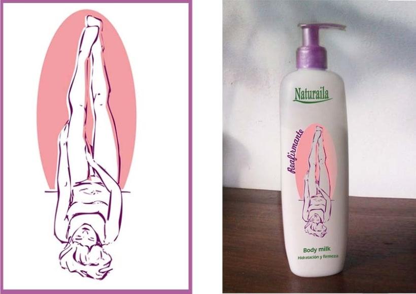 Ilustraciónes aplicadas en producto final. (Etiquetas, packagin, textil) 2