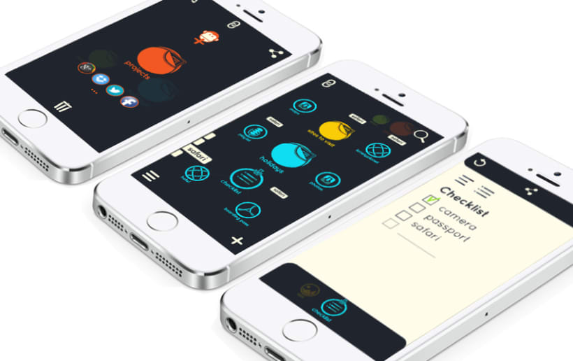 Shapes. A new way to organize your life 3