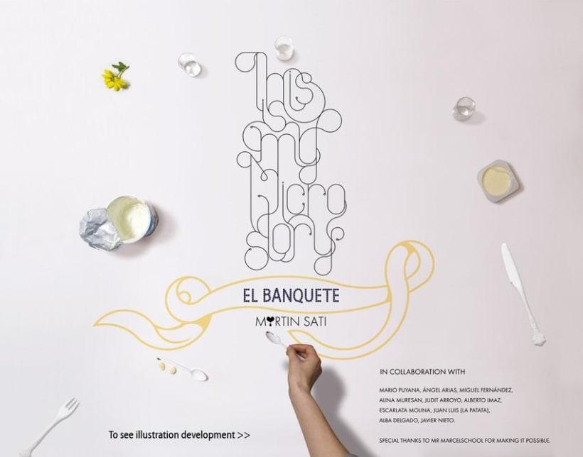 """""""El Banquete"""" (Con Martín Satí y alumnos de Mr Marcel School) 0"""