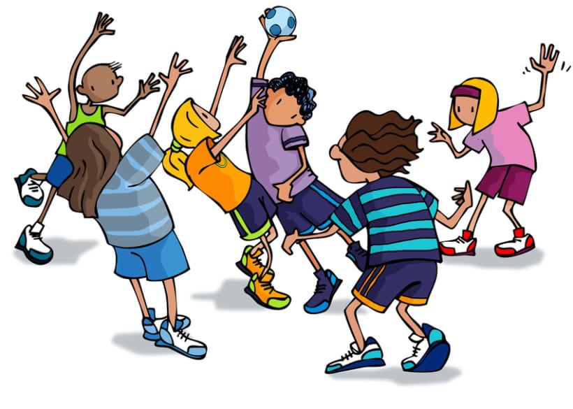 Juegos para educación física escolar 5