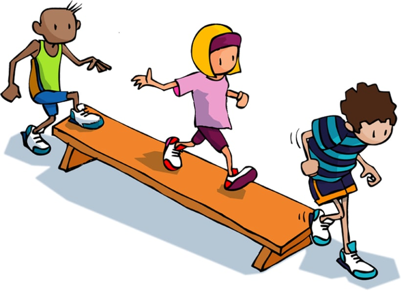 Juegos para educación física escolar 6