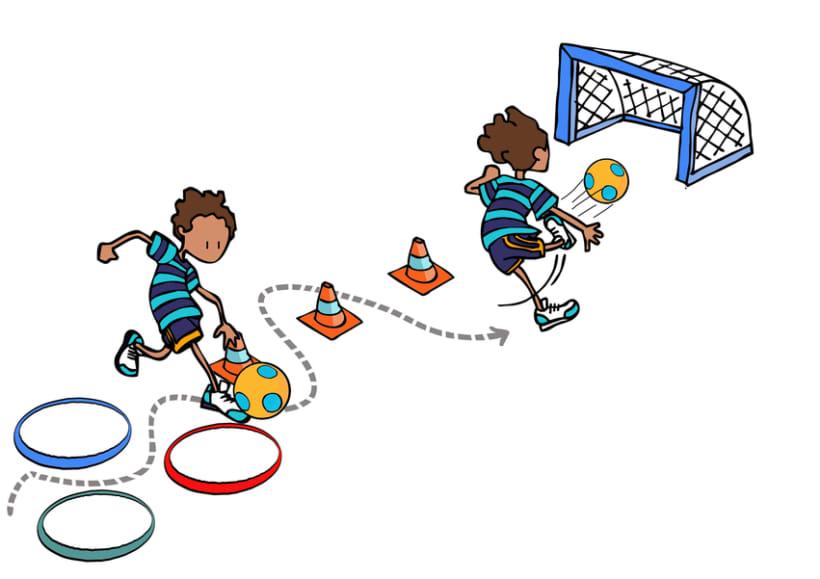 Juegos para educación física escolar 8