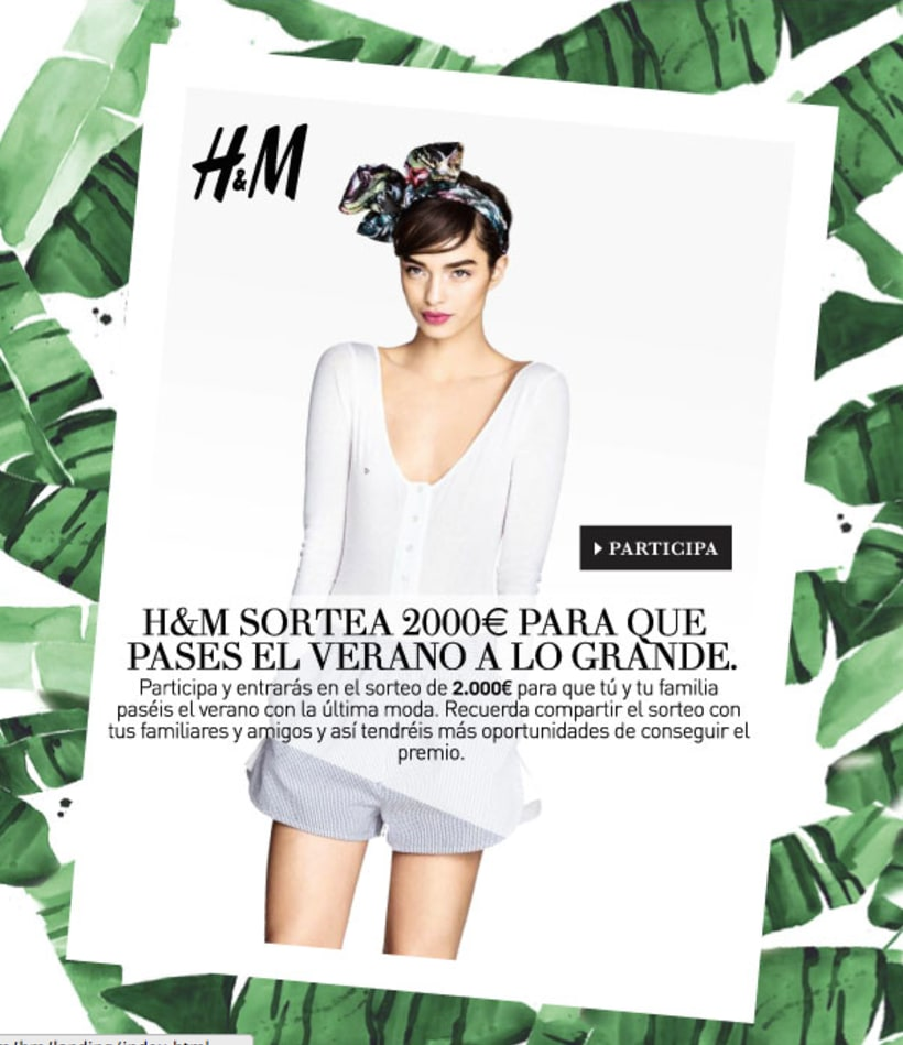 H&M Landing & Newslette 0