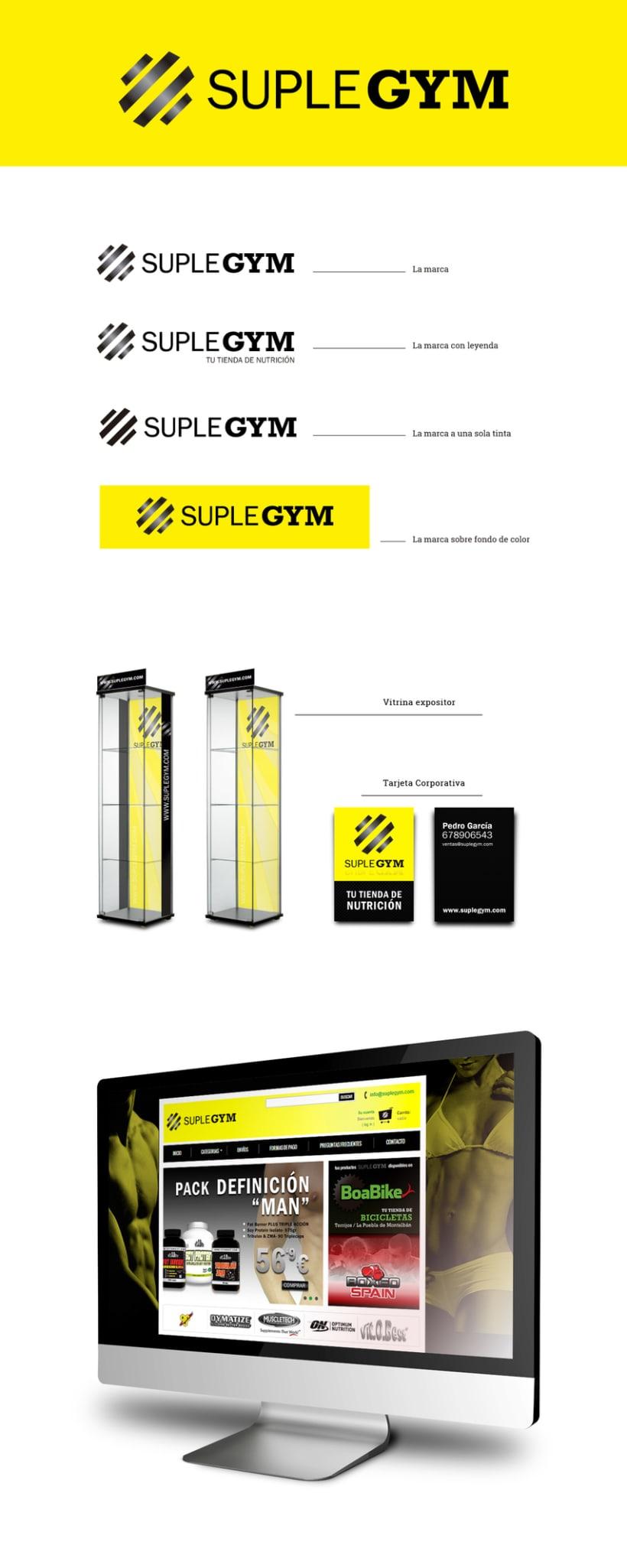 SupleGym, tienda de nutrición deportiva. 0