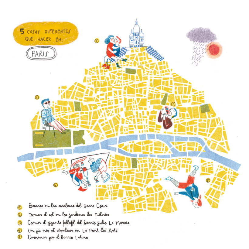 Maps(Magazine illustration) 2