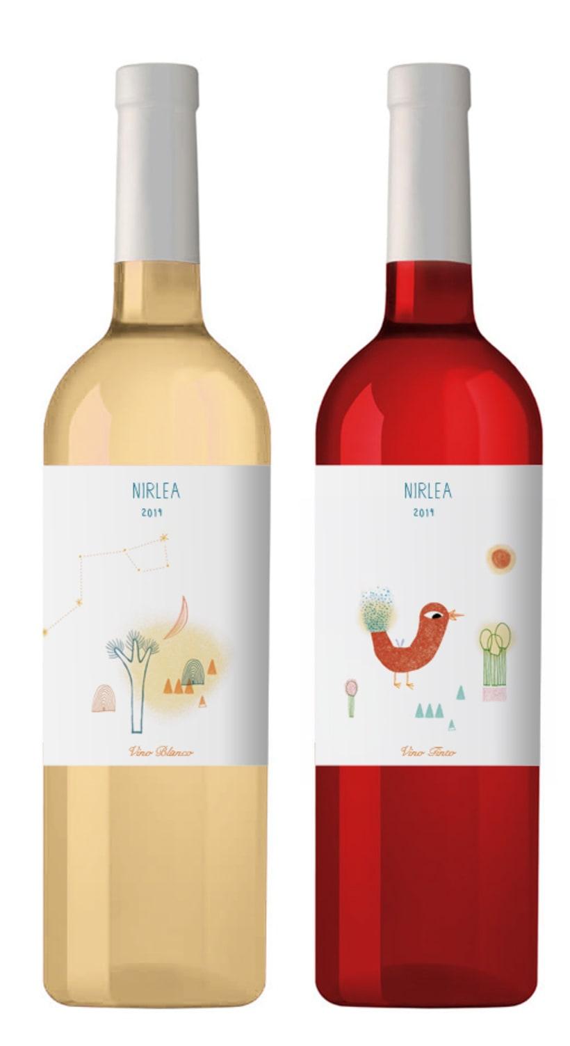 NIRLEA (Wine Label) 2